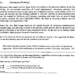 Announcements, 1999-05-03. ...