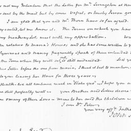 Document, 1823 March 17