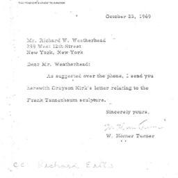 Correspondence, 1969-10-23....