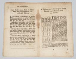 Page spread, folios B3-B4