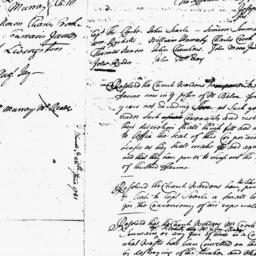Document, 1731 June 28