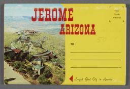 Recto of souvenir booklet cover