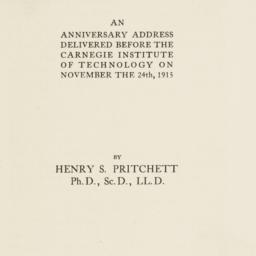 Andrew Carnegie. Title page