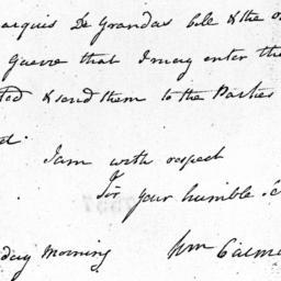 Document, 1781 January 4