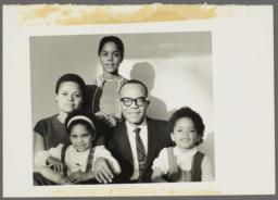 Barbara and Ulysses Kay with Their Three Children