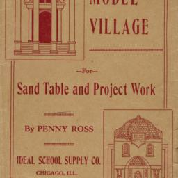 Model village for sand tabl...