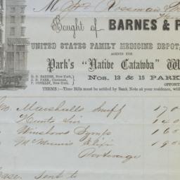 Barnes & Park. Bill