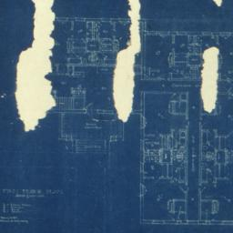 [Floor plans of an unidenti...
