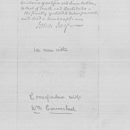Document, 1795 February n.d.