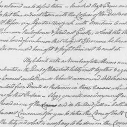 Document, 1774 October 08