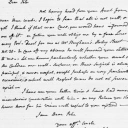Document, 1783 November 21