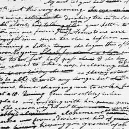Document, 1783 November 12