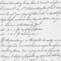 Document, 1765 March 05