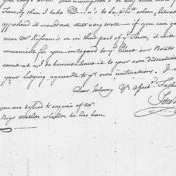 Document, 1764 February 28