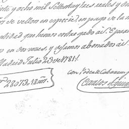 Document, 1781 July 23