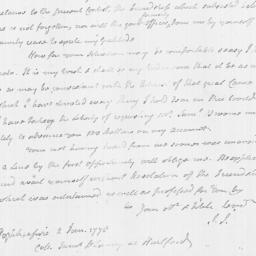 Document, 1778 January 02
