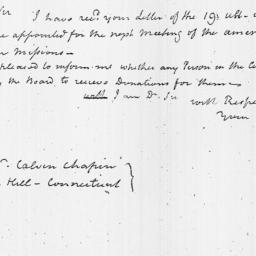 Document, 1816 September 02
