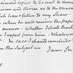 Document, 1816 January 05