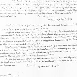 Document, 1822 December 27