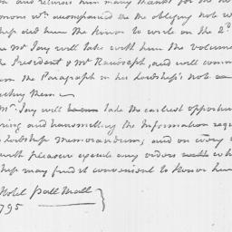 Document, 1795 April 04