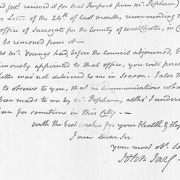 Document, 1800 October 31