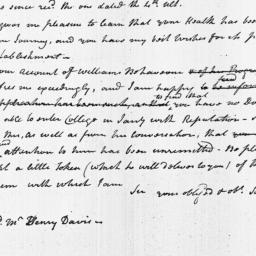 Document, 1803 November 10