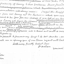 Document, 1797 January 09