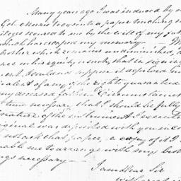 Document, 1822 May 18