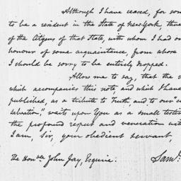 Document, 1822 January 30
