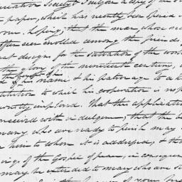 Document, 1821 November 21