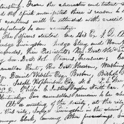 Document, 1820 December 07