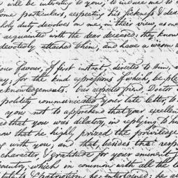 Document, 1813 March 31