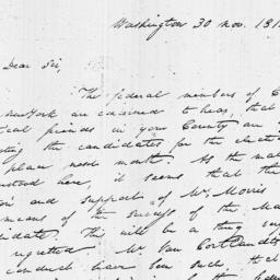 Document, 1812 November 30