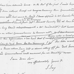 Document, 1778 June 03