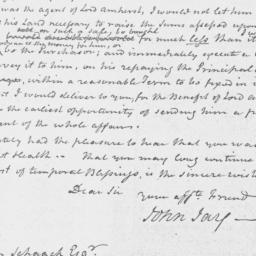 Document, 1813 October 25