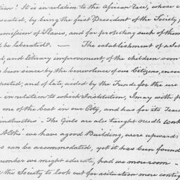 Document, 1818 April 09