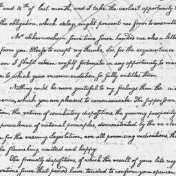 Document, 1795 January 09