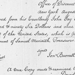 Document, 1796 August 16