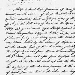Document, 1769 September 18