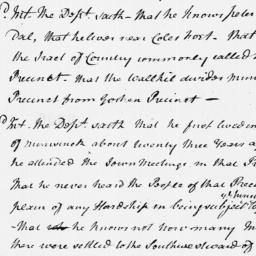 Document, 1769 September 12