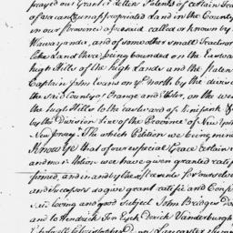 Document, 1703 April 29