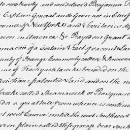 Document, 1696 June 05