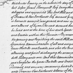 Document, 1752 February 19