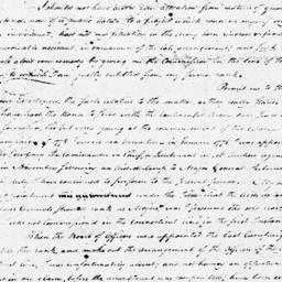 Document, 1779 August 30