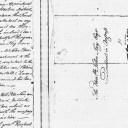 Document, 1779 June 03
