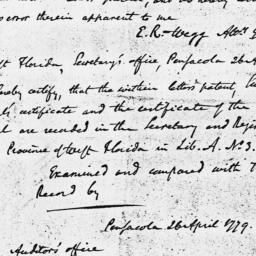 Document, 1779 April 26