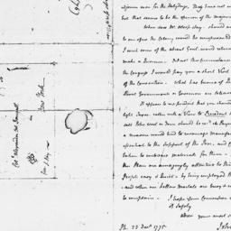 Document, 1775 December 23