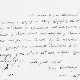 Document, 1779 March 07