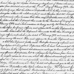 Document, 1786 January 25