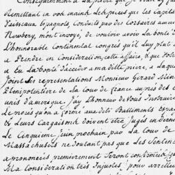Document, 1779 May 21